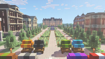 Valley Town Minecraft Map & Project