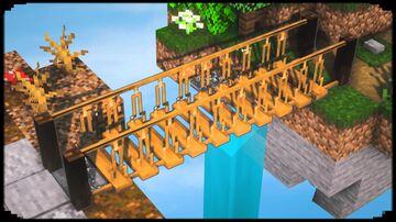 10 Bridge Building Ideas Minecraft Map & Project