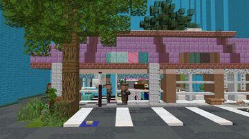 Slammin' Donuts/Irving & Burton | GTA Earth Parody Minecraft Map & Project