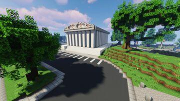 🏛️ Courthouse 🏛️ | The Loft MC Minecraft Map & Project