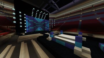 WWE Friday Night Smackdown Stage (2021) Minecraft Map & Project