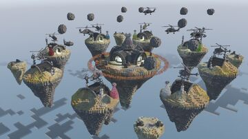 Bed Wars Map (Science War) Minecraft Map & Project