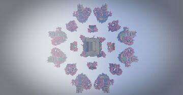 Map Bedwars Minecraft Map & Project