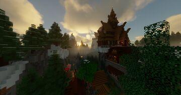 Upper quarters of Telgärd Minecraft Map & Project