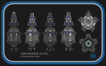 Munroe-Class Destroyer || The Expanse Full Interior (1:1) Build Minecraft Map & Project