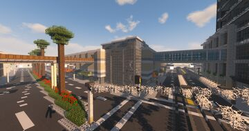 Dasic Shopping Center: Clinton Mall Minecraft Map & Project