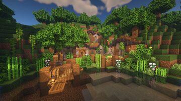 Hillside Base Build - Exterior Minecraft Map & Project