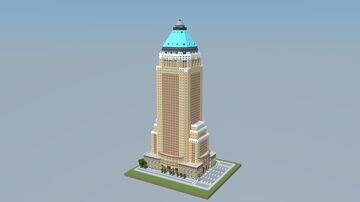 1:1 One Worldwide Plaza (New York) Minecraft Map & Project