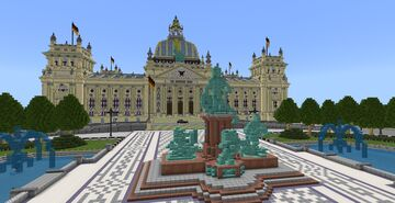 Reichstag Building - (WIP) Minecraft Map & Project