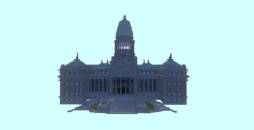 Congress of the Argentine Nation Minecraft Map & Project
