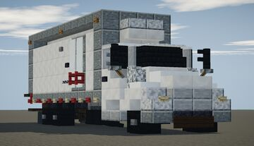 Refrigerated Box Truck Minecraft Map & Project