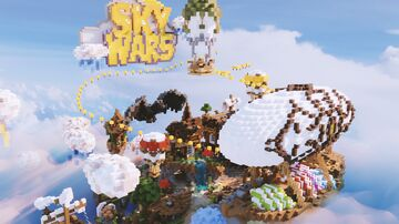 🎯 SKYWARS SPAWN 🎯 | High quality | PrismaBuilds Minecraft Map & Project