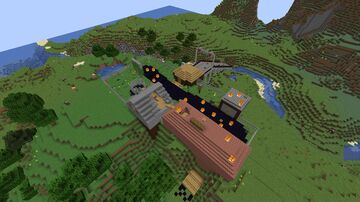 Small Town Zombie Apocalypse 2.0 Minecraft Map & Project