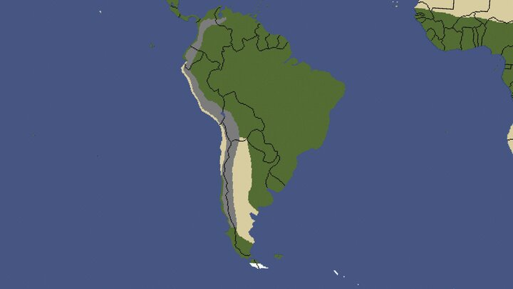 This is South America