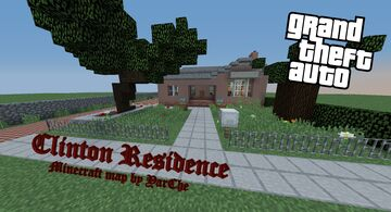 Clinton`s  Residence -- Franklin's crib from GTA 5 Minecraft Map & Project