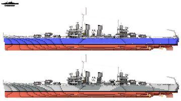 USS Phoenix & USS Boise 1:1 Scale Brooklyn class Minecraft Map & Project