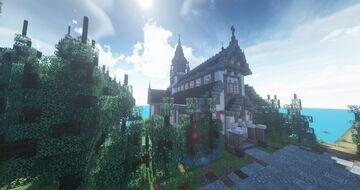 𝕊𝕥.𝕄𝕒𝕫𝕖 𝕄𝕒𝕓𝕦𝕣𝕘 - by HsianGxShOwO (1.16.4) Minecraft Map & Project