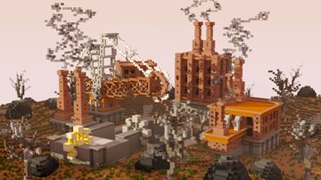 Industrial Steampunk Minecraft Map & Project