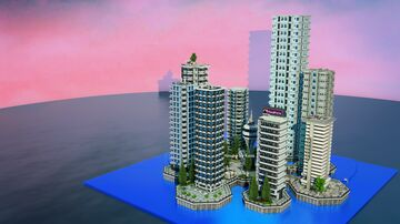 Floating City Minecraft Map & Project