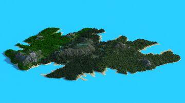 Amelia Island 1.14-1.16 (3072x3072) Minecraft Map & Project