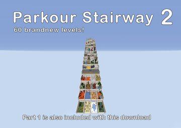 Parkour Stairway 2 Minecraft Map & Project