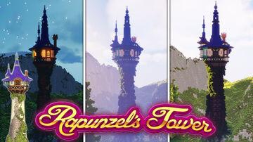 Rapunzel tower in Minecraft Minecraft Map & Project