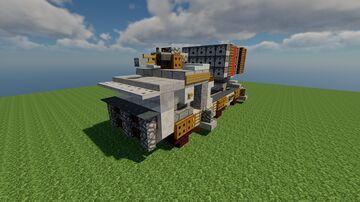 MLRS-15-21 / Rocket launcher / Fictional / Schematic 1.12.2 Minecraft Map & Project