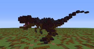 Tyrannosaurus Rex Minecraft Map & Project