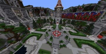 Emberfall Hub Minecraft Map & Project
