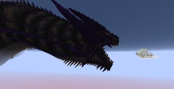 Ancalagon The Black - The Silmarillion Minecraft Map & Project