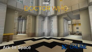 Nerva Beacon - Ark In Space - Doctor Who Online Minecraft Map & Project