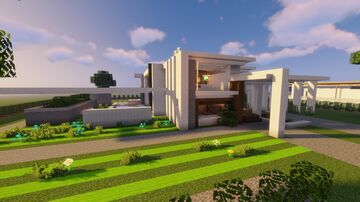 Just A Modern House Minecraft Map & Project