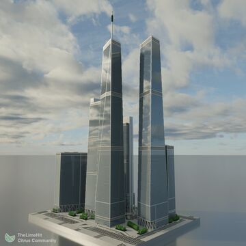 Millennium Plaza - Realistic Skyscraper Complex | New Limesville City | NL | UCS Minecraft Map & Project