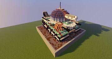 Small futuristic tank concept Minecraft Map & Project