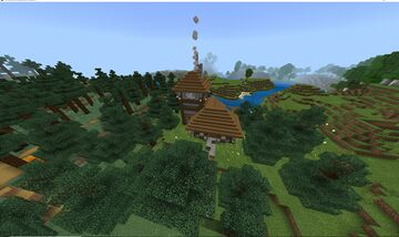 Spruce village Minecraft Map & Project