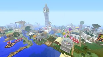 Stampys Lovely World Tour: By Game Clans Minecraft Map & Project