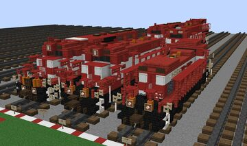 WSOR Engines Minecraft Map & Project