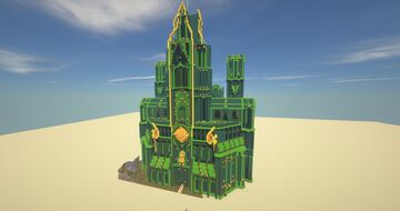 Emerald City Reimagined Minecraft Map & Project