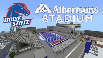 Albertsons Stadium (Boise State) Boise, Idaho Minecraft Map & Project