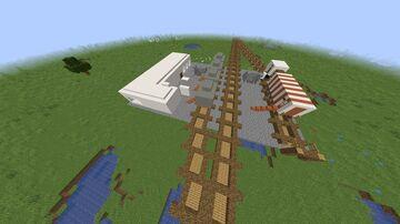 New Leningrad Train Station Minecraft Map & Project