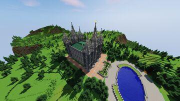 Salt Lake City Temple Minecraft Map & Project