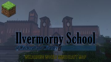 Ilvermorny School of Witchcraft and Wizardry Minecraft Map & Project