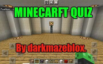 MINECARFT QUIZ BY DARKMAZEBLOX. Minecraft Map & Project
