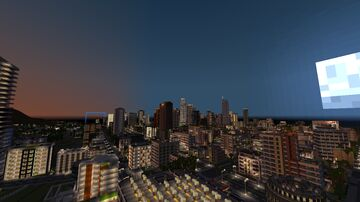 Los Angeles 90% Minecraft Map & Project