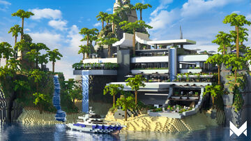 The MrBeast Mansion Minecraft Map & Project