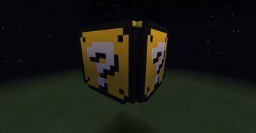 Mario Question Mark Block (3D)(Hollow) Minecraft Map & Project