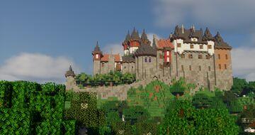Castle Neu-Salingen Minecraft Map & Project