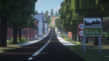 Poland Village Kózki 1.12.2 with mods DOWNLOAD Minecraft Map & Project