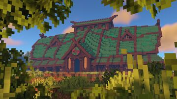 Viking Longhouse [UNDECORATED] Minecraft Map & Project