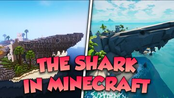 Fortnite - The Shark Minecraft Map & Project